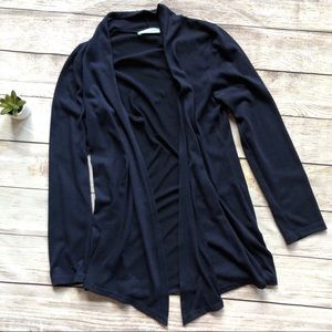 Chris & Carol Boutique Navy Drapey Cardigan Medium